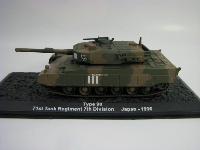 Tank Type 90 Japan 1996 1:72 Atlas edition